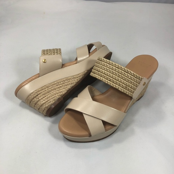 86c02f1b80a Ugg Adriana espadrilles wedge sandal tan 7